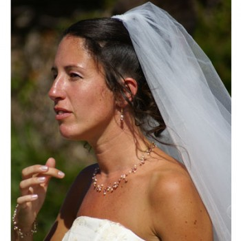 Bijoux de mariage de Soizic le 10-07-2010