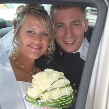 Mariage d'Anne Laure et Steve le 31-07-2010
