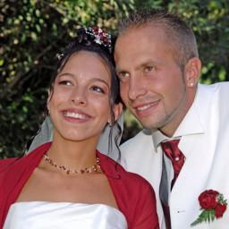 Bijoux de mariage d'Elodie et Christopher le 07-08-2010