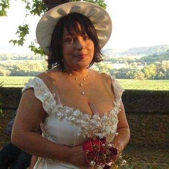 Bijoux de mariage de Julie le 14-08-2010