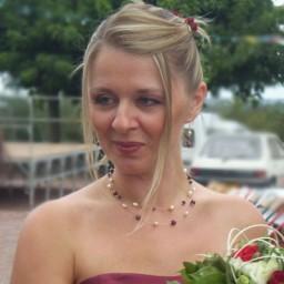 Bijoux de mariage de Karine le 14-08-2010
