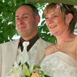Bijoux de mariage d'Isabelle et Christian le 28-08-2010