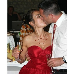 Bijoux de mariage de La-Miss et Mickey le 28-08-2010