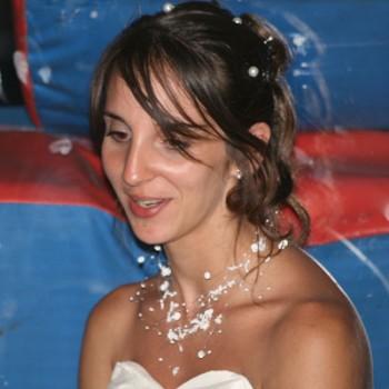 Bijoux de mariage de Mélanie le 28-08-2010