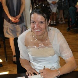 Bijoux de mariage de Myriam le 28-08-2010