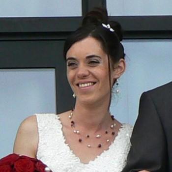 Bijoux de mariage de Céline le 11-09-2010