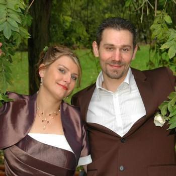 Bijoux de mariage de Blandine et Fabien le 02-10-2010