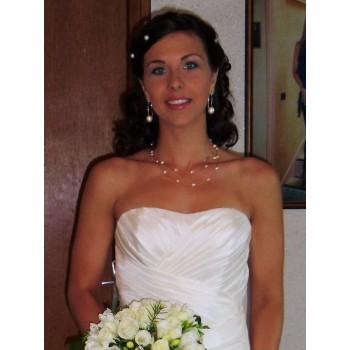 Bijoux de mariage de Nathalie le 07-05-2011