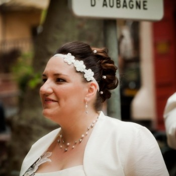 Bijoux de mariage de Tiphaine le 04-06-2011