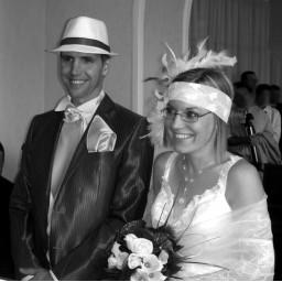 Bijoux de mariage d'Aurélia et Fred le 11-06-2011