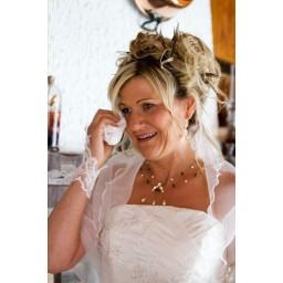 Bijoux de mariage de Sabine le 25-06-2011