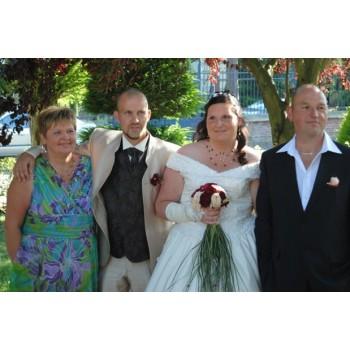 Bijoux de mariage de Stéphanie le 02-07-2011