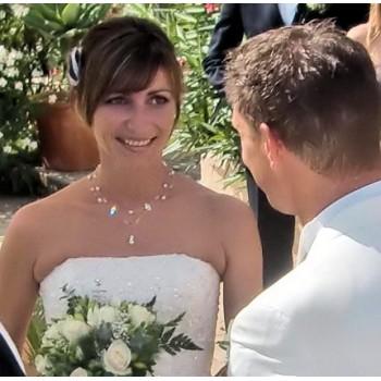 Bijoux de mariage de Kami et Andreas le 30-07-2011