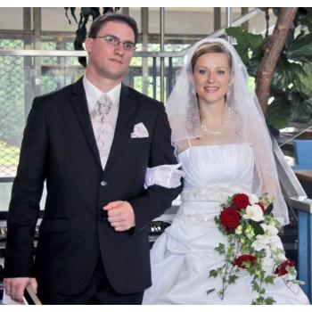 Bijoux de mariage de Florence et Harrison le 13-08-2011