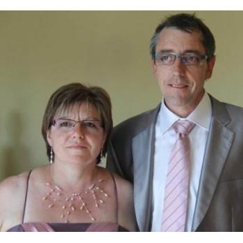 Bijoux de mariage d'Anne-Marie le 10-09-2011