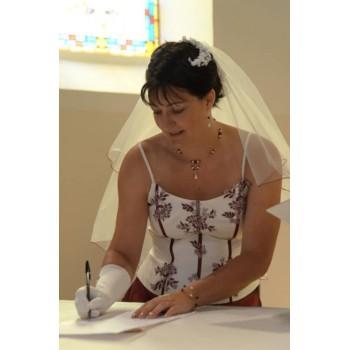 Bijoux de mariage de Sabine le 10-09-2011