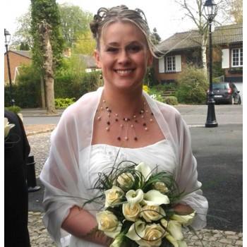Bijoux de mariage d'Elise le 14-04-2012