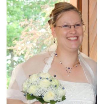 Bijoux de mariage de Christelle le 12-05-2012