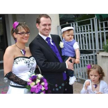 Bijoux de mariage de Stéphanie et Mathieu le 12-05-2012