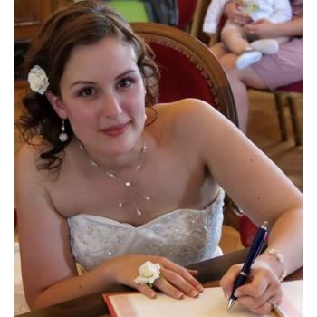 Bijoux de mariage de Joan le 26-05-2012