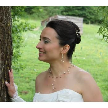 Bijoux de mariage de Ludivine le 09-06-2012