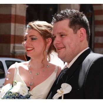 Bijoux de mariage d'Estelle et Davy le 16-06-2012