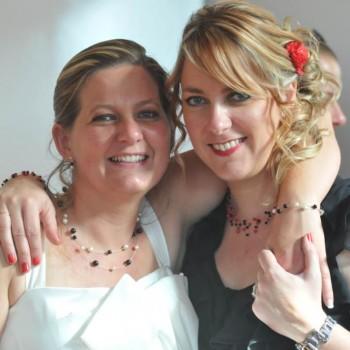 Bijoux de mariage de Caroline le 30-06-2012