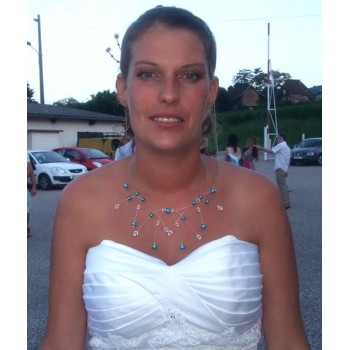 Bijoux de mariage de Coralie le 07-07-2012