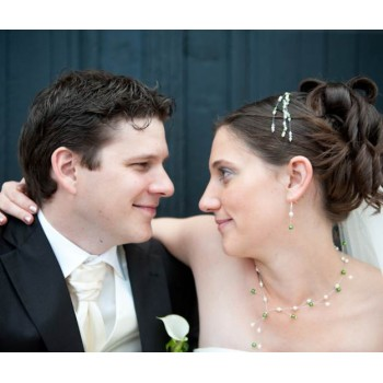 Bijoux de mariage d'Elodie et Lionel le 07-07-2012