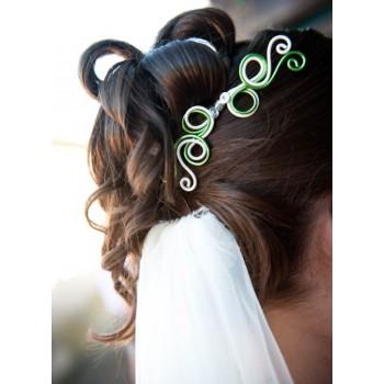 Bijoux de mariage d'Elodie le 07-07-2012