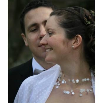 Bijoux de mariage de Marie et Frédéric le 21-07-2012