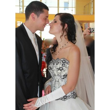 Bijoux de mariage d'Anaïs et Guillaume le 11-08-2012