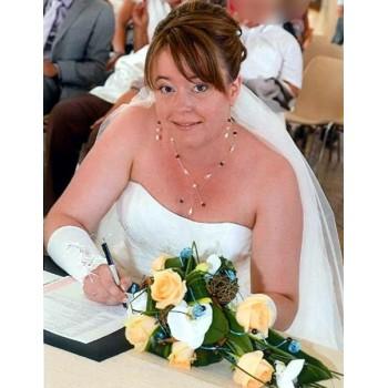 Bijoux de mariage d'Aurélia le 11-08-2012