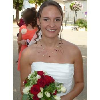 Bijoux de mariage de Claire le 18-08-2012