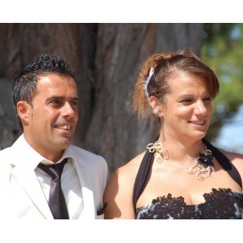Bijoux de mariage de Joséphine et José le 18-08-2012