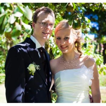 Bijoux de mariage de Mélodie et Steeve le 18-08-2012