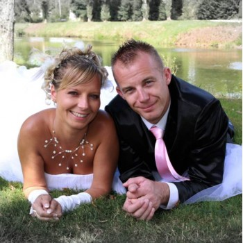 Bijoux de mariage de Delphine le 25-08-2012