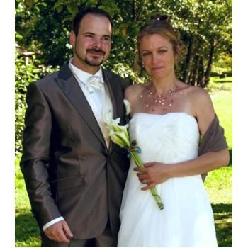Bijoux de mariage de Marlène et Jean-Baptiste le 08-09-2012