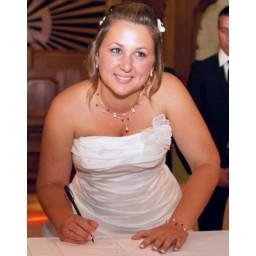 Bijoux de mariage de Julie le 15-09-2012