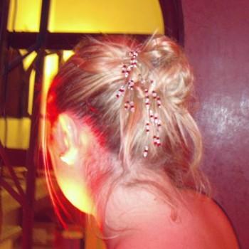 Bijoux de mariage d'Aurélie le 22-09-2012