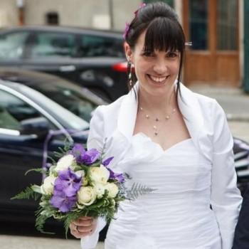 Bijoux de mariage de Sara le 11-05-2013