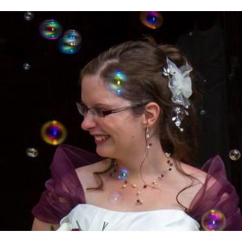 Bijoux de mariage de Manon le 15-06-2013