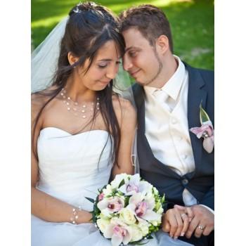 Bijoux de mariage d'Amandine et Florian le 22-06-2013