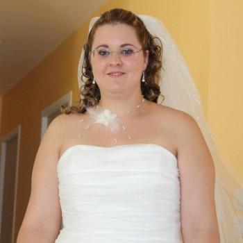 Bijoux de mariage d'Alexandra le 13-07-2013