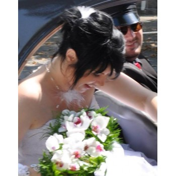 Bijoux de mariage de Maëlle le 17-08-2013