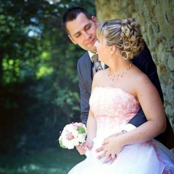 Bijoux de mariage de Nelly et Nicolas le 17-08-2013