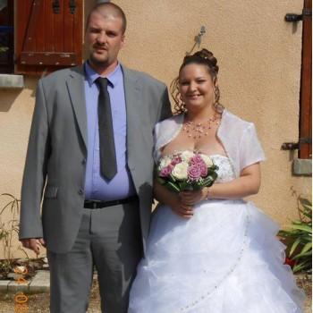 Bijoux de mariage d'Aline et Bernard le 24-08-2013