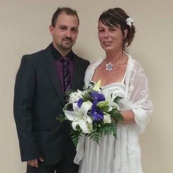 Bijoux de mariage d'Armelle et Sébastien le 24-08-2013