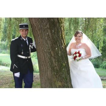 Bijoux de mariage de Pascaline et Bryce le 24-08-2013