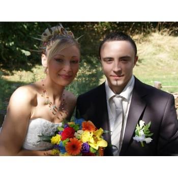 Bijoux de mariage de Céline le 07-09-2013